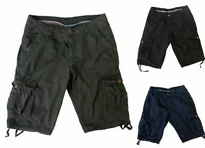 New Summer Mens Casual Military Cargo Camo Combat Shorts Pants