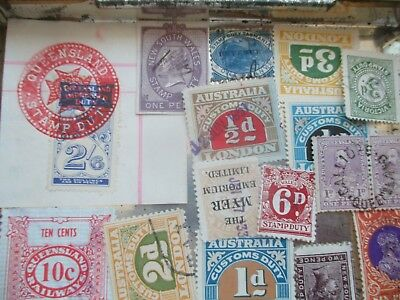 ESTATE: Stamp Duties in box unchecked unsorted as received so much here  (s19)