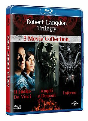 Blu-Ray Robert Langdon Trilogia (3 Blu-Ray) 2009 Film - Giallo/Thriller Sony Pic