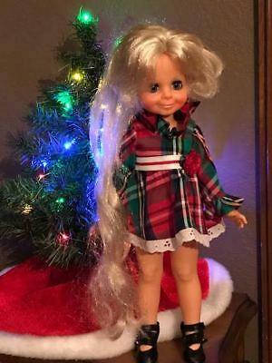 """Velvet ~ Crissy Family ~ By Ideal ~ Vintage ~ """"1970""""s 16"""" Tall Great Condition!"""