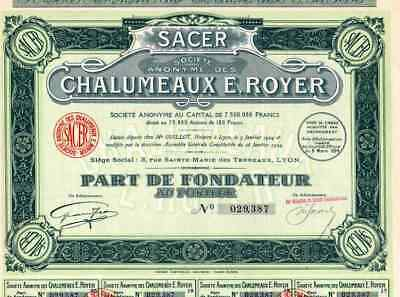 Chalumeaux Royer #24108