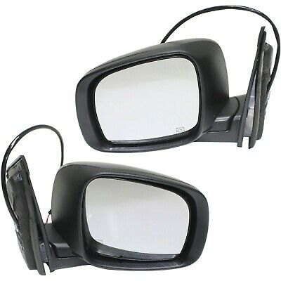 Power Mirror For 2011-19 Dodge Grand Caravan R//T GT Left Manual Fold With 2 Caps