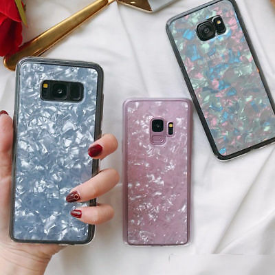 For Samsung Galaxy Note 9 S9 S8 Plus Marble Pattern Soft Silicone TPU Cover Case