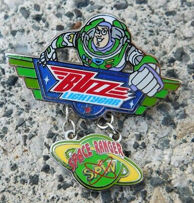 Disney's 2008 Pin BUZZ LIGHTYEAR & WOODY Moveable