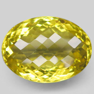 42.27ct.Magnificent! 100%Natural Top Lemon Quartz Unheated 26x19mm.AAA Nr!.