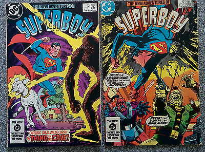 The New Adventures of Superboy - dated 1984 # 52 & 54