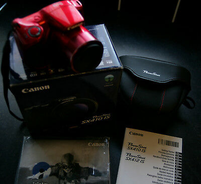 CANON POWERSHOT SX410 IS 20.0MP Camera ''Superb Condition'' Boxed