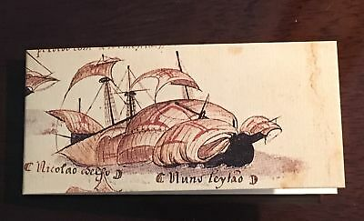 Portugal Ships Used In 1900' Collection Booklet Mnh