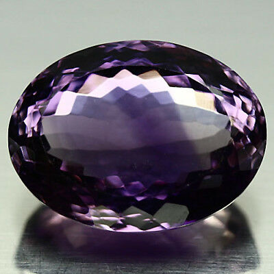 21.42 Ct Natural! Purple Clr Change To Pink Brazilian Amethyst Oval