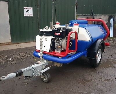 Brendon Bowser / Yanmar L100 10Hp Industrial Diesel Pressure Washer Jet Power