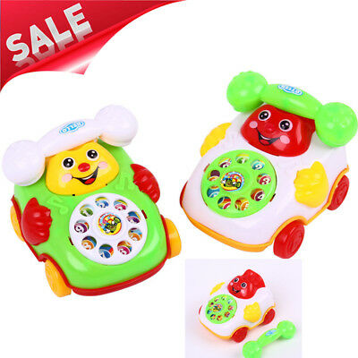 New Baby Toys Music Cartoon Phone Mobile Educational Learning Kids Gifts Toy