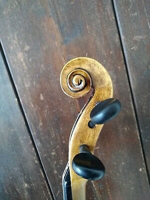 "Old violin with label "" Albani carlo Bolzano 1853"""