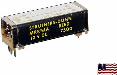 ⭐3 Struthers-Dunn 12 Vdc Reed Relay, Spst Pc Mount N.o. 750Ω