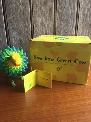 Cow Parade How Now Green Cow Never Sale ! From British Petroleum Corp. !!!