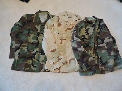 U.S. ARMY 3 Fieldjackets im Paket - 2 in Größe L - 1 in M - TOP!