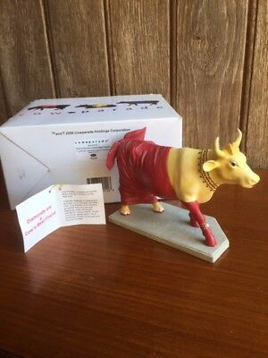 Cow Parade Retired Chicago Original 9 Diamonds Are A Cow S Best Friend 9122