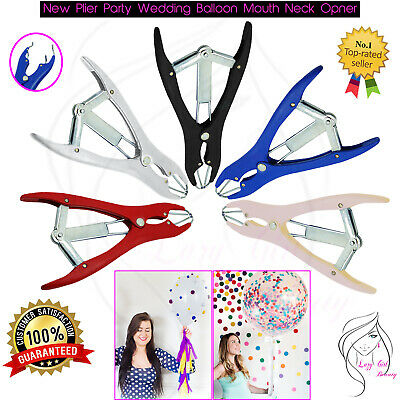 Party Wedding CONFETTI APPLICATOR Big Small BALLOON Mouth Neck Opener NEW Plier