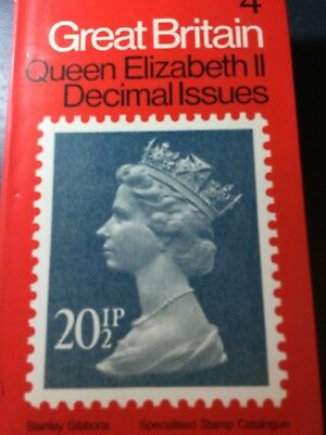 Stanley Gibbons Specialised Stamp Catalogue  GB Queen Elizabeth II Decimal Issue