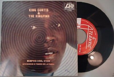SINGLE KING CURTIS Memphis soul stew VINYL VG+ COVER VG+ Stamp on front