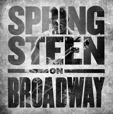 BRUCE SPRINGSTEEN - ON BROADWAY (Brand new sealed 2018 2 x CD)