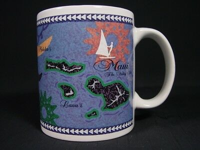 Maui The Valley Isle Coffee Mug Travel Souvenir Island Heritage