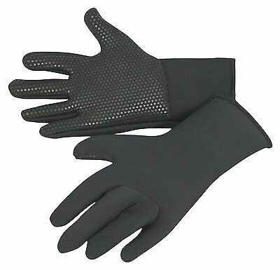 kids wetsuit gloves, titanium 3mm neo, grippy palms, warm, stretchy ages 5 to 15