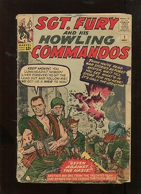 Sgt Fury And His Howling Commandos #1 (1.8) Key Silver