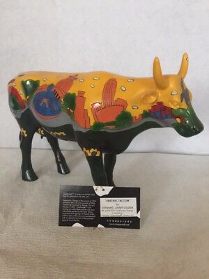 Cow Parade Abstract Kc Cow By Edward J Bartoszek 1040520 Grande Vache