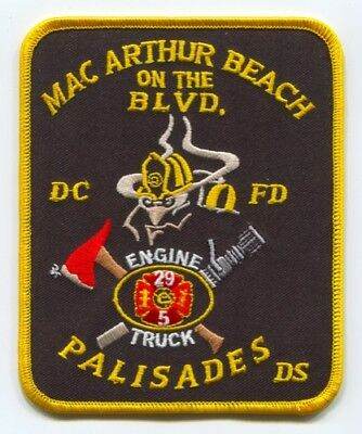 District of Columbia Fire Department DCFD Engine 29 Truck 5 Patch Washington DC
