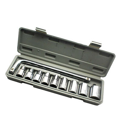 Socket Wrench Set 10pcs 1/2-Inch Drive Ratchet Wrench Spanner for Repairing