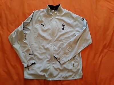 Retro Vintage Tottenham Hotspur Puma 2010/11 Waterproof Jacket (Size Mens Xl)