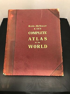 Rand-Mcnally & co.s Complete Atlas Of The World