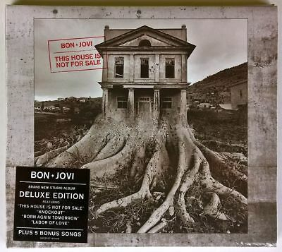 Bon Jovi This House Is Not For Sale Cd Deluxe Edition Sealed