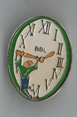 Pin Pin's Badge Montre Watch Bbl