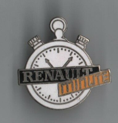 Pin Pin's Badge Montre Watch Chrono Renault Minute