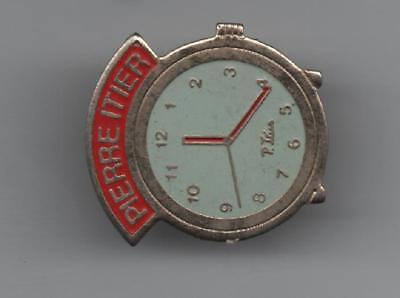 Pin Pin's Badge Montre Watch Pierre Itier