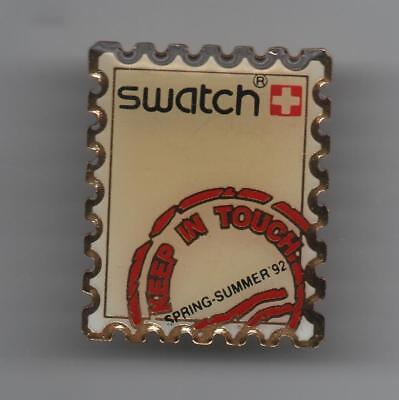 Pin Pin's Badge Montre Watch Swatch Timbre