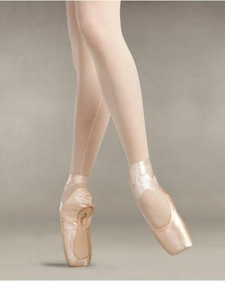 Capezio 102 Glisse Pointe Shoes - Pink Satin - Ballet Shoe - Various Sizes
