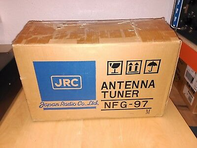 JRC NFG-97 Antena tunner.   **** EXCELLENT conditions, hard to find  ****