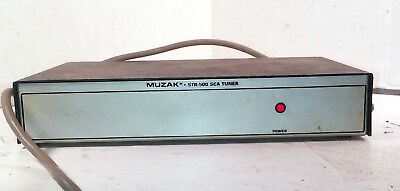 1 Used Muzak Str-500 Sca Tuner !!Free Cd!! ***Make Offer***