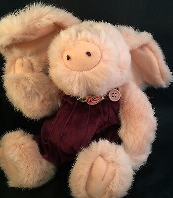 "Boyds Bears Primrose Pig 11"" #9160 Retired 1996 Hard to find"