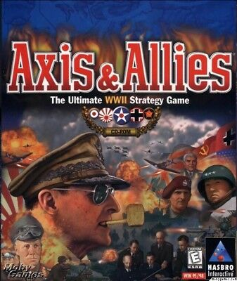 AXIS & ALLIES +1Clk Windows 10 8 7 Vista XP Install