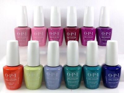 OPI Soak-Off GelColor - TOKYO Spring 2019 Collection - All 12 Colors