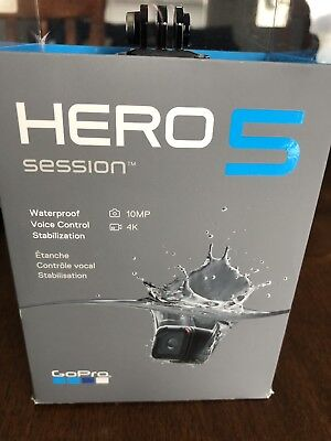 gopro hero 5 session 10mp  With 64gb Card And Accessories.