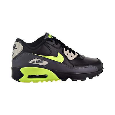 769dbe7d84f1a shoes nike air max 90 mesh gs 833418 006 black volt dk grey 9ec8193762c