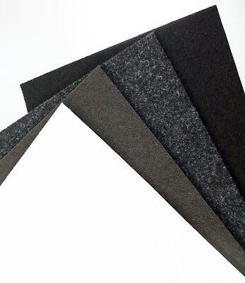 Felt Sheet Square 5x5 - 35 7/16x35 7/16in, Strong Self Adhesive, Gliders 0 1/8in