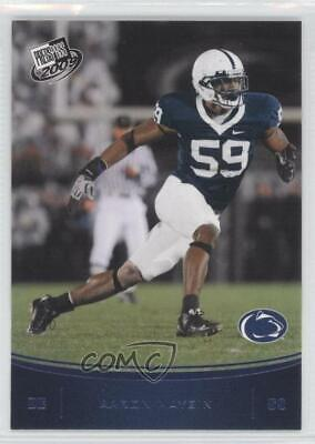 2009 Press Pass Blue #40 Aaron Maybin Penn State Nittany Lions Football Card