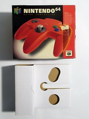 Roter Nintendo 64 Controller Verpackung