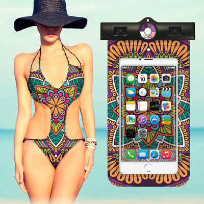 For All Phones Dry Pouch Arm Bag Case Bohemia Waterproof Underwater Cell Phone