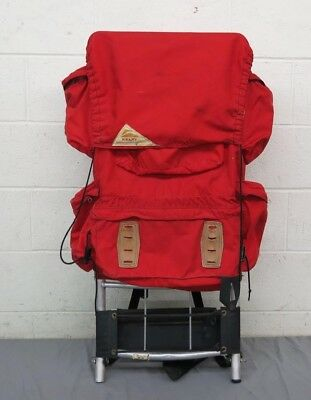 """Vintage Kelty Red External Frame Backpack Size XL 15x37"""" Frame GREAT LOOK"""